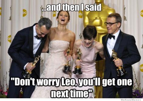 Los Oscar son mejores con memes.