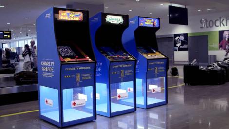 Se trata de la campaña Charity Arcade.