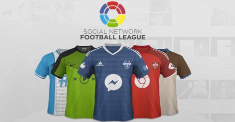 ¿A qué equipo de la Social Network Futbol League le irías?