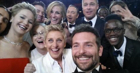 La selfie más retuiteada de la historia