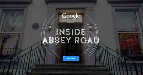 """Con la app """"inside Abbey Road"""" tu puedes estar ahí."""