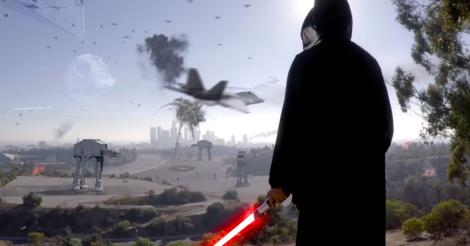 Las Fuerzas Imperiales llegaron a la Tierra en este vídeo.