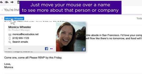 Con la nueva tecnología será posible visitar el Facebook del contacto