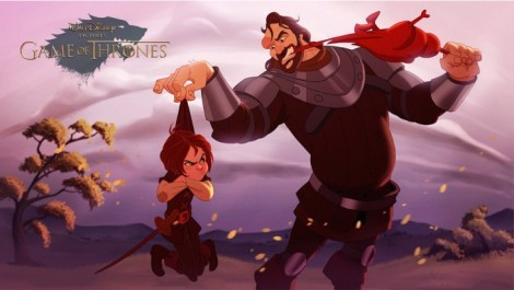 Arya-Stark-y-Sandor-Clegane