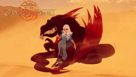 Daenerys-Targaryen-y-Drogon