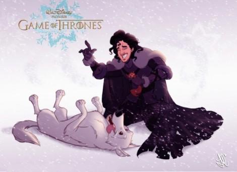 jon-snow-y-ghost